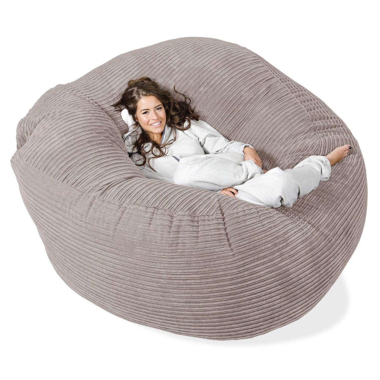 mega mammoth sitzsack aus cord. Black Bedroom Furniture Sets. Home Design Ideas