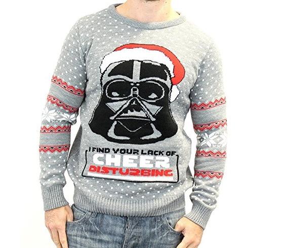 Weihnachtspullover Darth Vader