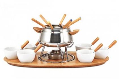passend zur weihnachtszeit fondue set. Black Bedroom Furniture Sets. Home Design Ideas