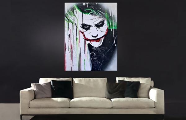 Der Joker - Leinwandbild für Batman-Fans