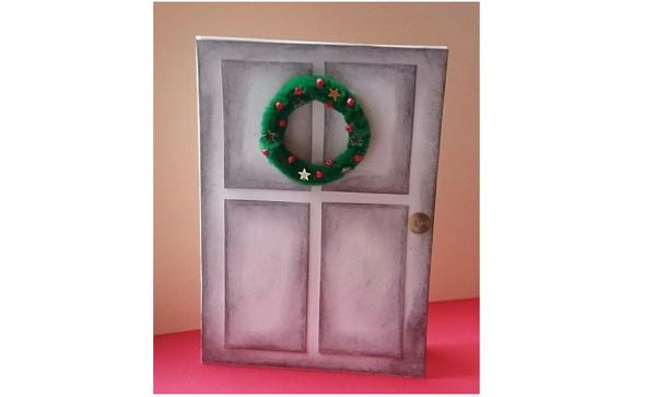 Weihnachtskarten Mit Foto Selber Basteln.Weihnachtskarte Selber Machen Anleitung Zum Basteln