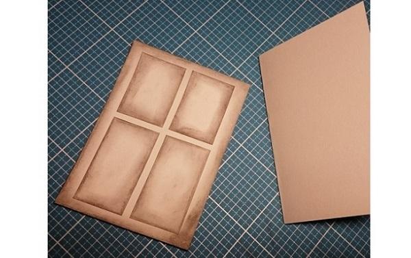 weihnachtskarte selber machen anleitung zum basteln. Black Bedroom Furniture Sets. Home Design Ideas