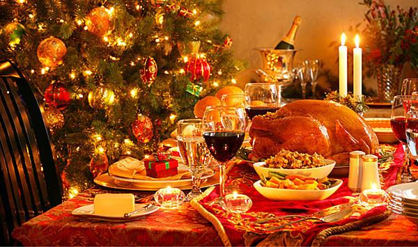 Weihnachtlich feiern und dabei entspannt Essen und Trinken