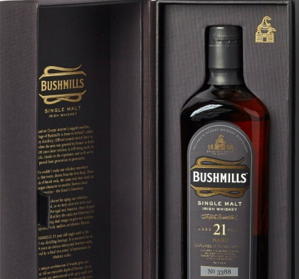 weihnachtsgeschenk f r den freund bushmills whiskey. Black Bedroom Furniture Sets. Home Design Ideas
