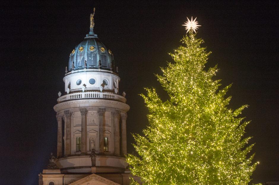 Gottesdienst an Weihnachten - Französische Friedrichstadtkirche