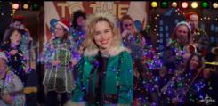 last Christmas Weihnachtself auf der Bühne